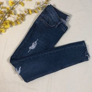 NWOT Free People Button Front Jeans Size: 25
